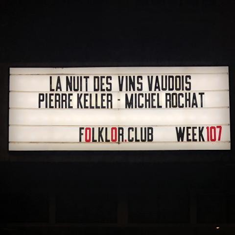 La Nuit des Vins Vaudois
