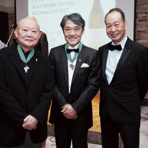 3 commandeurs japonais