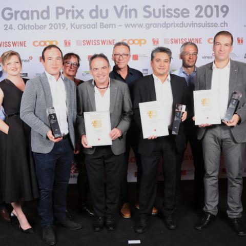 Grand Prix du Vin Suisse - catégorie Chasselas